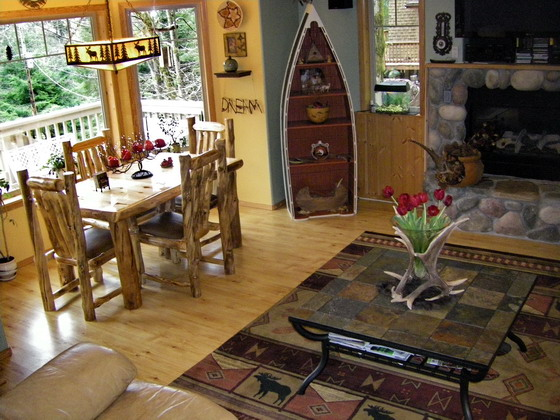 cabin decorating ideas pictures