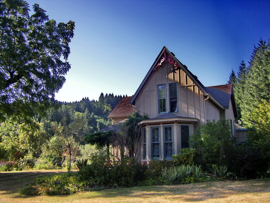 Victorian Home For Sale In Mist Oregon History And