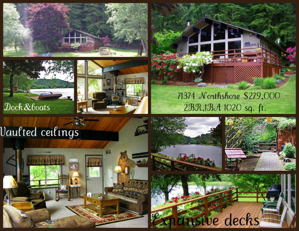 Fishhawk Lake Real Estate-Lakefront Property for Sale Oregon
