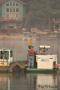 Dredge Operator for Fishhawk Lake