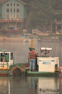 Dredge Operator for Fishhawk Lake
