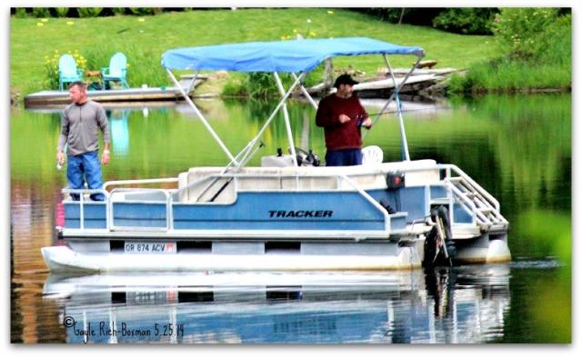 Fishing Season at Fishhawk Lake First Day 2014 May 26th